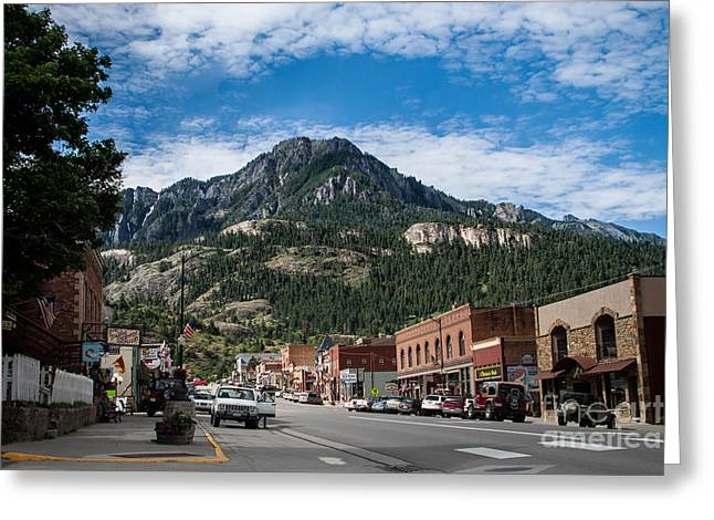 Ouray Main Street Greeting Card