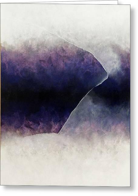 Ouroboros Three Blue, 2010 Greeting Card