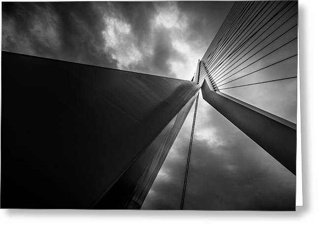 Greeting Card featuring the photograph Out Of Chaos A New Order by Mihai Andritoiu