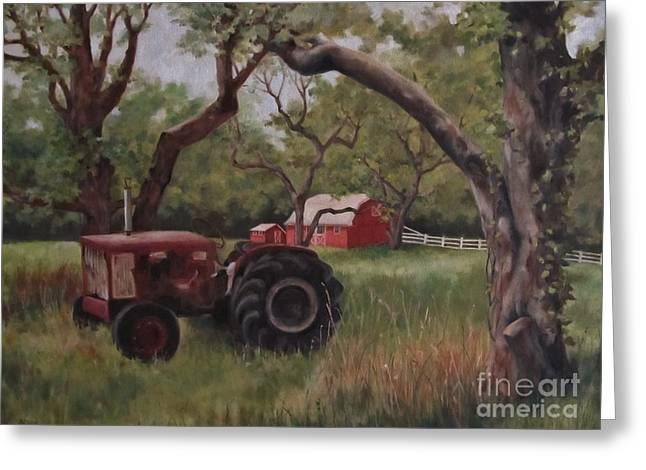 Out Of Commission Greeting Card by Karen Olson
