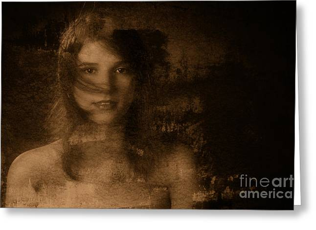 Out Of The Dark 4 Greeting Card by Kendree Miller