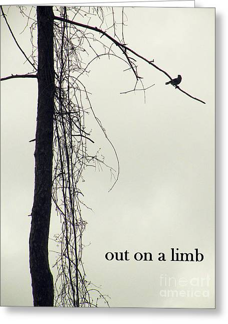 Out On A Limb Greeting Card