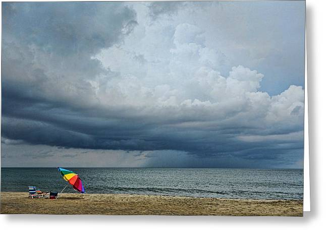Out To Sea - Outer Banks Greeting Card