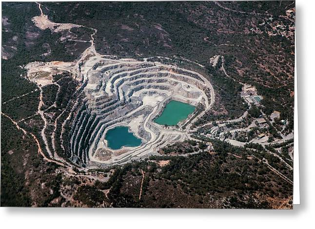 Outback Quarry Greeting Card