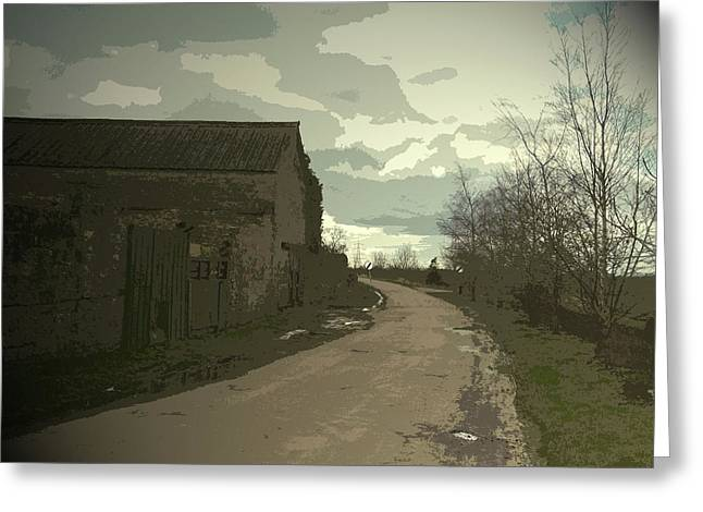Outbuilding By Ramper Road In Carr,  Outbuilding By Ramper Greeting Card by Litz Collection