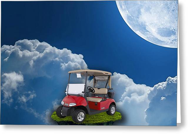 Outdoor Golfing Greeting Card
