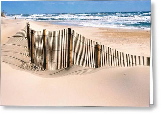 Outer Banks, North Carolina, Usa Greeting Card by Panoramic Images