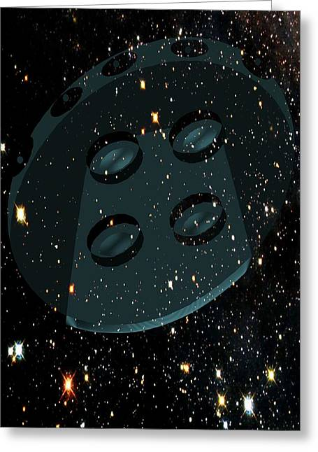 Outer Limits Greeting Card by Daryl Macintyre