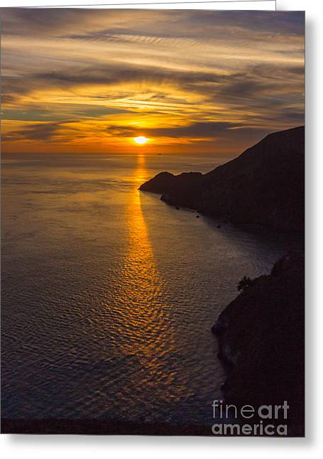 outer San Francisco Bay Greeting Card by Terry Cotton