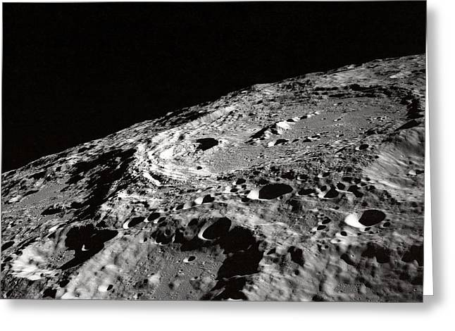 Outer Space Two Four Zero Greeting Card by Nasa Usgs