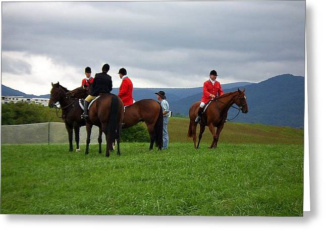 Outriders Greeting Card
