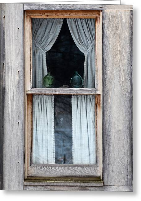 Outside In Greeting Card by Dale Kincaid
