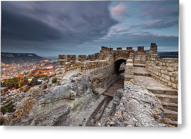 Ovech Fortress Greeting Card by Evgeni Dinev