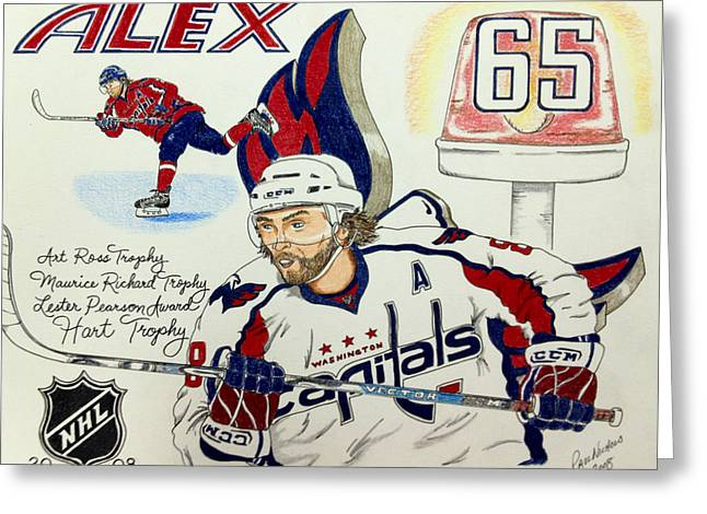 Ovechkin 2008 Greeting Card