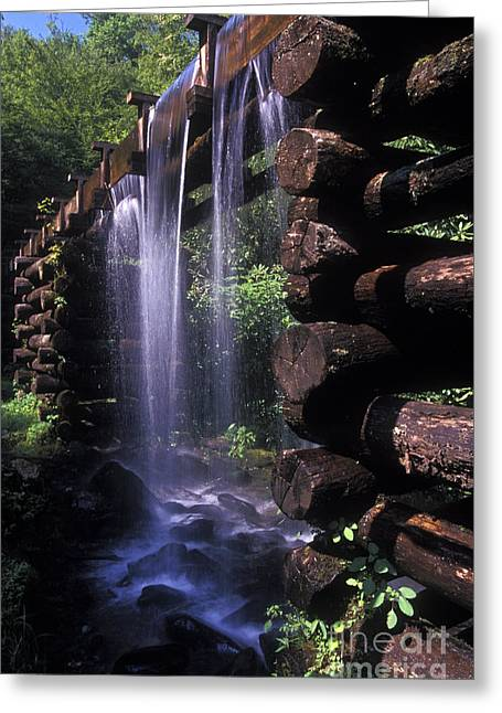 Over Flow Greeting Card by Paul W Faust -  Impressions of Light