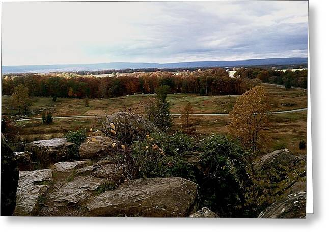 Over The Battle Field Of Gettysburg Greeting Card by Amazing Photographs AKA Christian Wilson