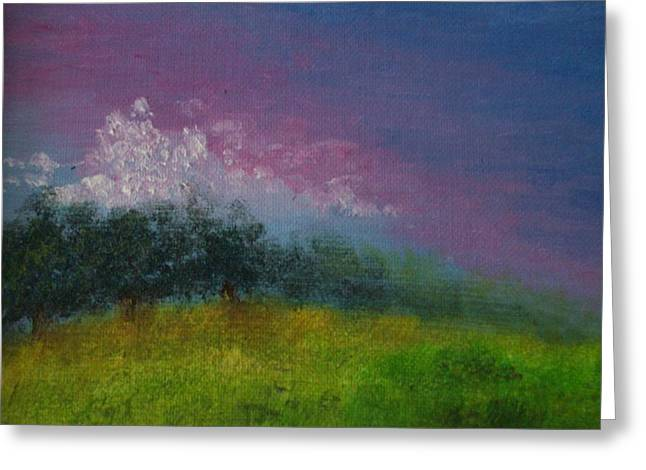 Over The Horizon Greeting Card by Margie Ridenour
