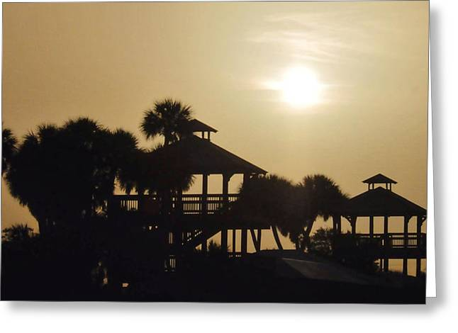 Overcast Greeting Card by Don Durfee
