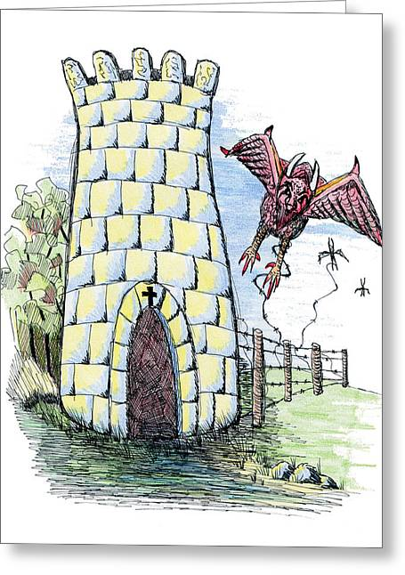 Overcome Evil With Good Greeting Card by Tanya Provines