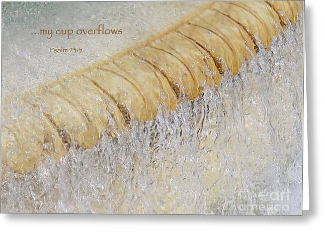 Overflowing Greeting Card by Ann Horn