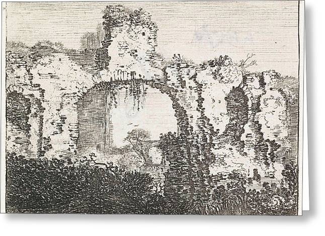 Overgrown Ruins, Jan Ruyscher Greeting Card