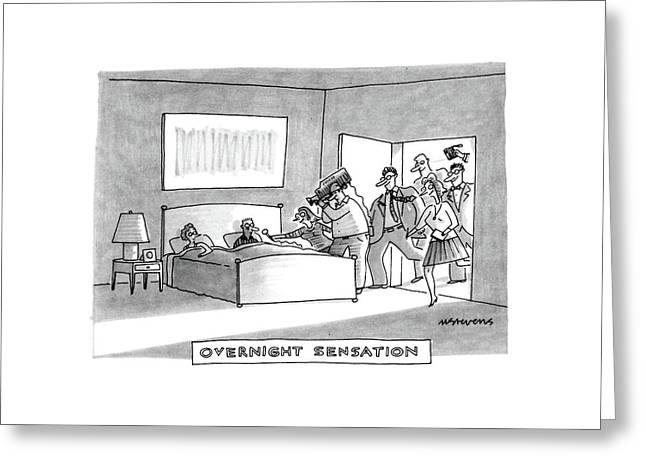 Overnight Sensation Greeting Card