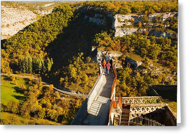 Overview Of Chateau Ramparts Greeting Card