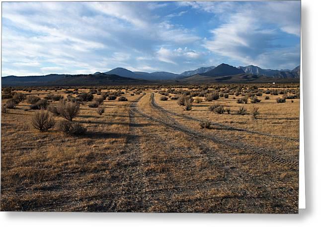 Owens Valley Sunrise Greeting Card by Joe Schofield