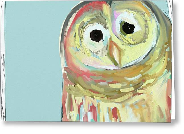 Owl #5 Greeting Card