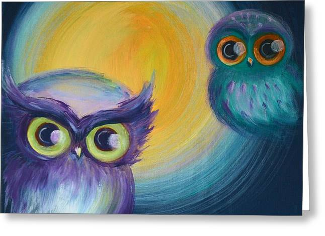 Owl Be Watching You Greeting Card