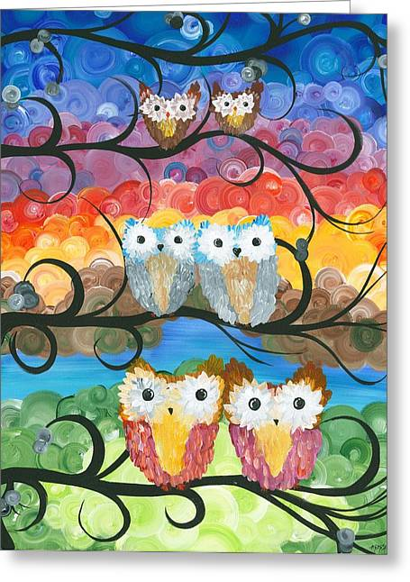 Owl Expressions - 00 Greeting Card