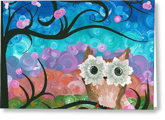 Owl Expressions - 01 Greeting Card