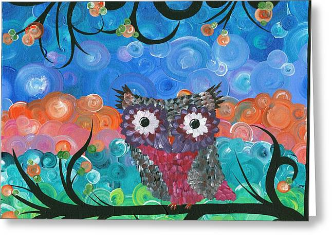 Owl Expressions - 02 Greeting Card