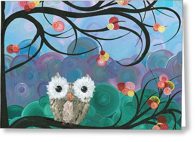 Owl Expressions - 03 Greeting Card