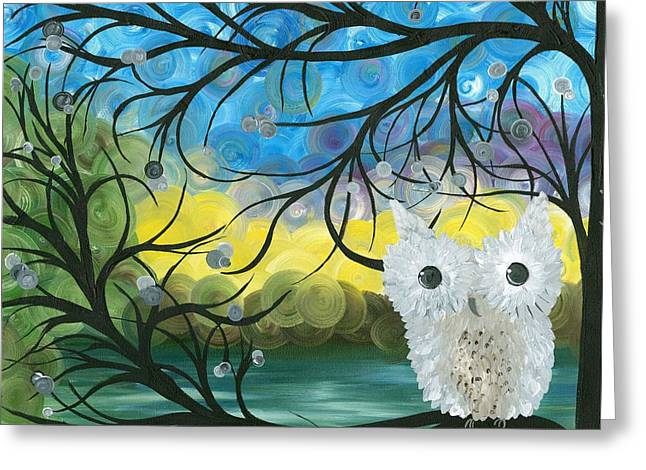 Owl Expressions 04 Greeting Card