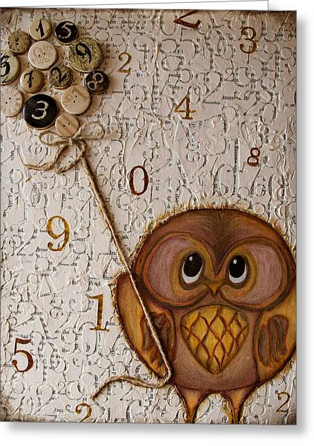 Time On A String Greeting Card