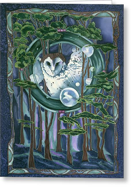 Owl Totem Greeting Card