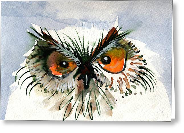 Owlitude Greeting Card