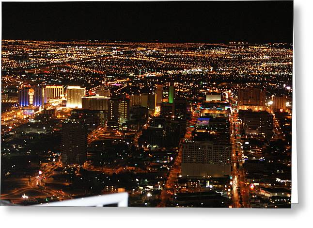 Own The Night Greeting Card by Michael Davis