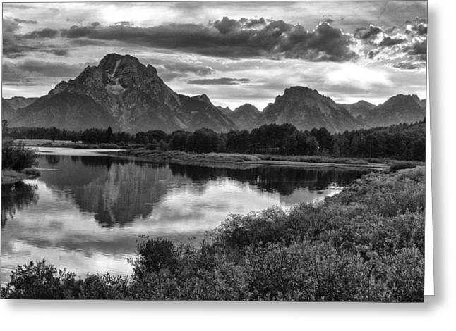 Oxbow Bend Dramatics Greeting Card