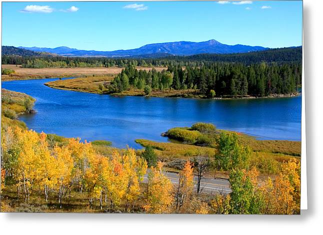 Oxbow Bend Grand Teton National Park Greeting Card