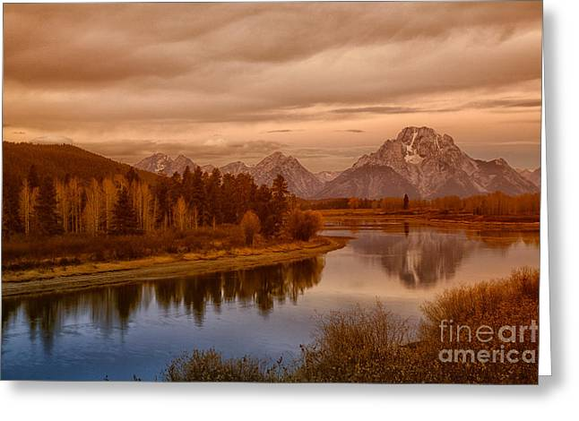Oxbow Morning Greeting Card