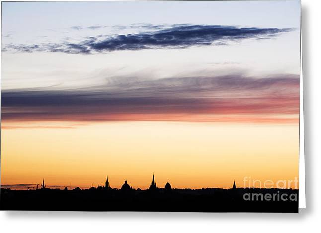 Oxford Dreaming Spires Greeting Card