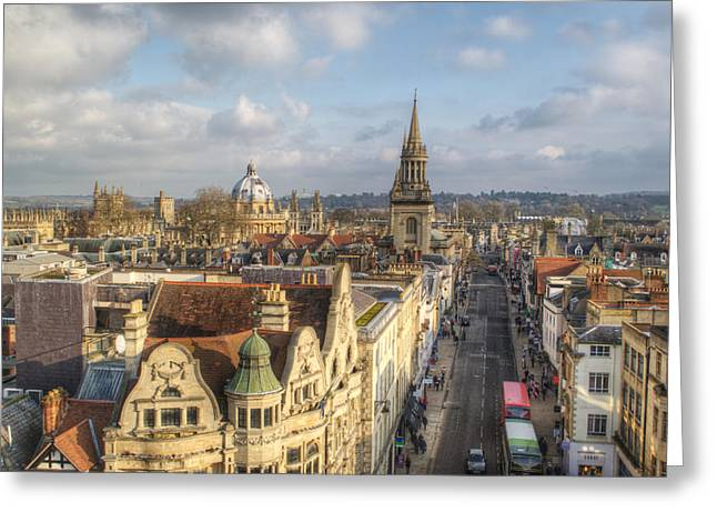 Oxford High Street Greeting Card