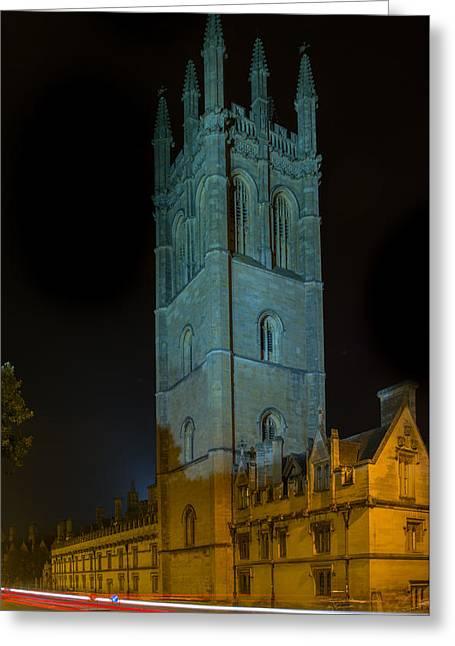 Oxford University Greeting Card
