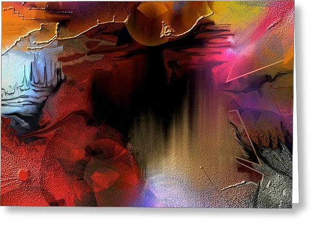 Oxocelhaya Greeting Card by Francoise Dugourd-Caput