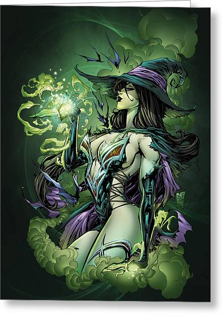 Oz 02a Greeting Card by Zenescope Entertainment