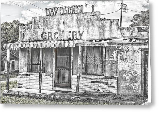 Ozark Vintage Grocery Greeting Card by Steven Bateson