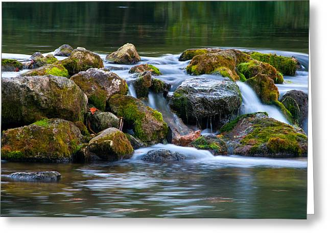 Ozark Waterfall Greeting Card