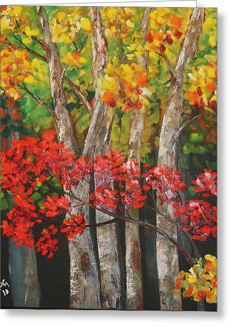 Ozark Woods Greeting Card